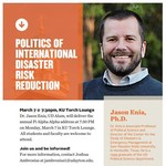 The Politics of International Disaster Risk Reduction