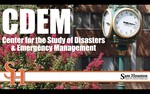 SHSU as a Leader in the Study of Disasters and Emergency Management